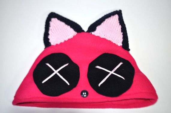 #berretto #fucsia #pile #cap #pink #cute #kawaii #orecchie #ears #handmade #crafts #diy