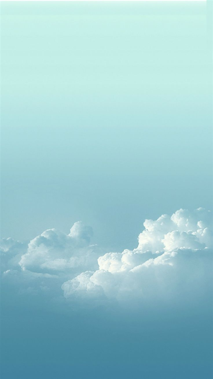 hight resolution of pure sunny bright cloudy skyscape iphone 6 wallpaper