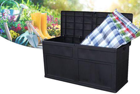 Opbergbox tuin 320 liter | Genoeg opbergruimte voor je (tuin)kussens en andere spullen