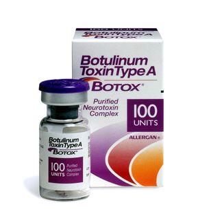 Botox er et registrert legemiddel som inneholder botulinum toxin type A.