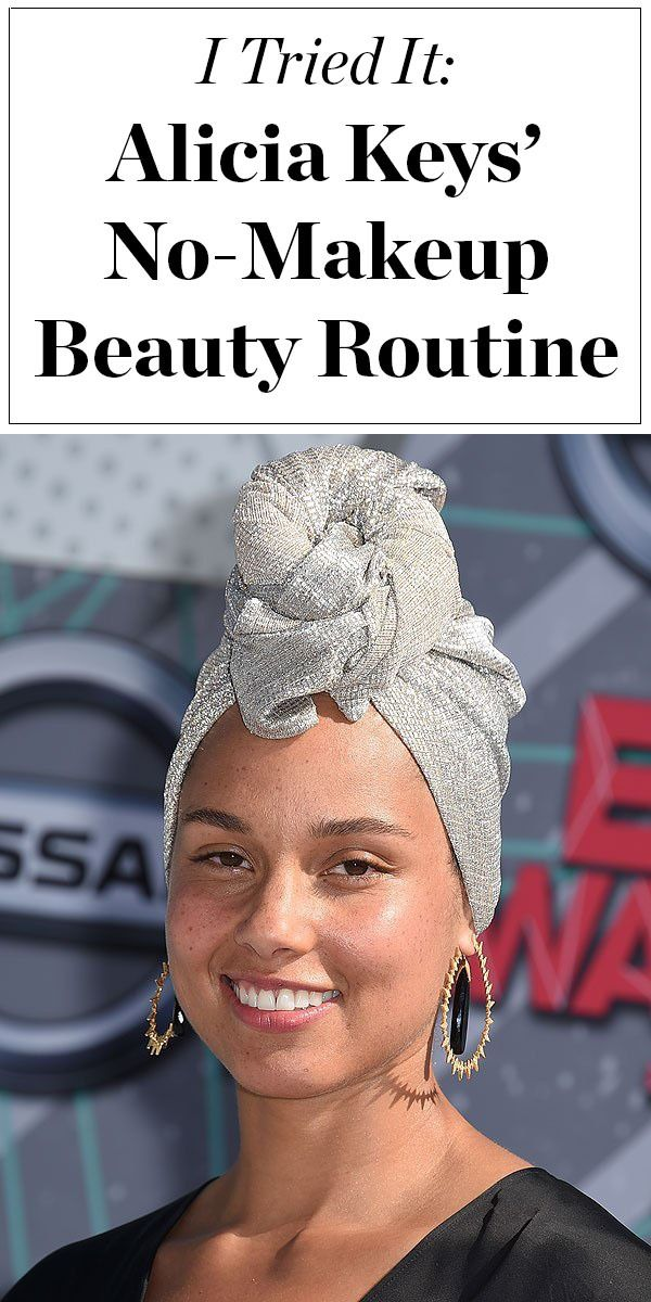 Love Alicia Keys' no-makeup look? Click ahead to find out her skincare routine, and see how one beauty editor liked going makeup-free like Alicia