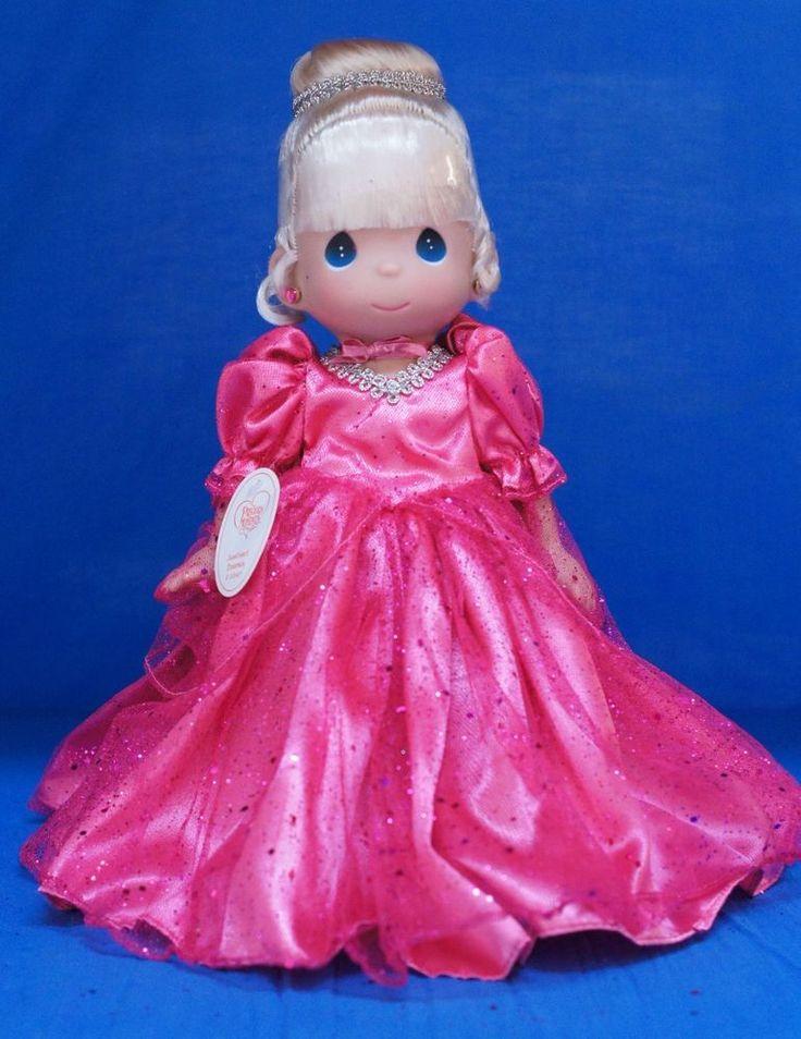 Cinderella Disney Spring 2013 Sweetheart Precious Moments Doll Signed 4859 #PreciousMoments #Dolls