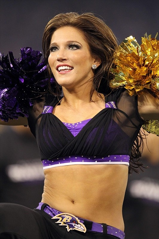 A Gallery of the Baltimore Ravens cheerleaders.