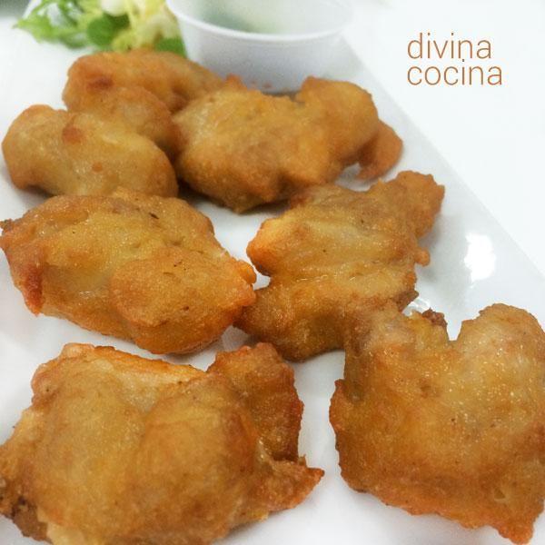 Buñuelos de pollo | Cocinar en casa es facilisimo.com