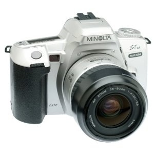 Minolta Maxxum STsi Panorama Date 35mm SLR Camera Kit with 35-80mm Lens (Electronics)  One of my cameras!!