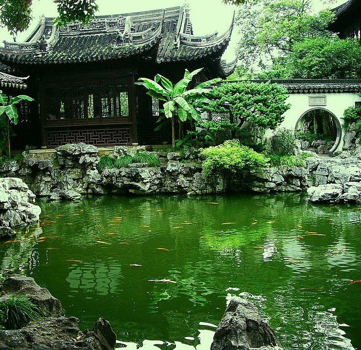 9 best chinese garden design images on pinterest chinese for Chinese landscape design