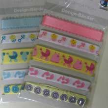 Design Ribbons x 5 - Baby - 5.50EUR - Craft Heaven : Craft supplies, Cakeware, Crystals & Angels
