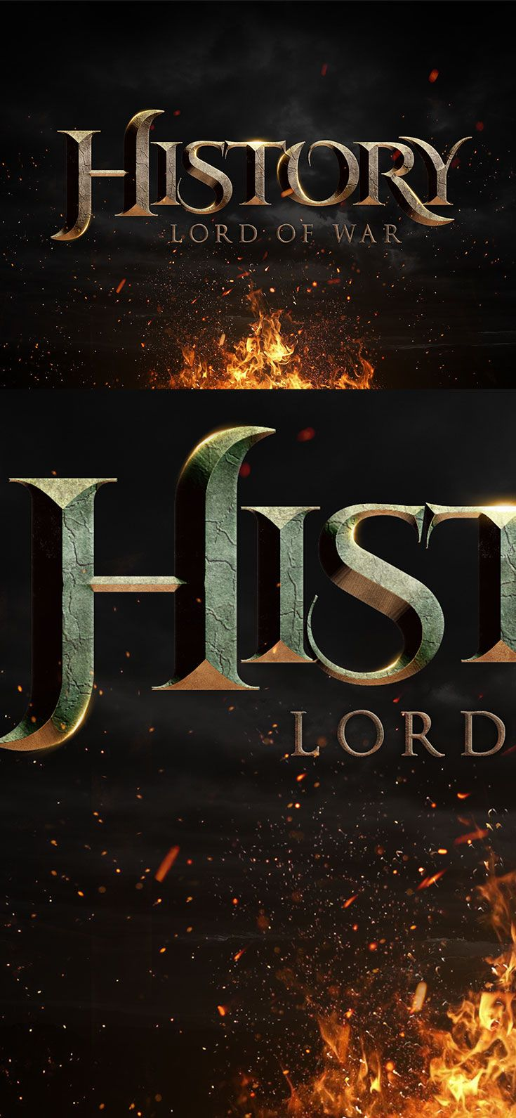 Free Epic Cinematic Text Effect is a PSD text effect that will helps you to crea…