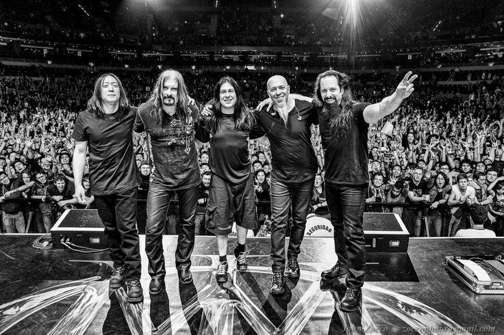Dream Theater in Mexico City.  2014.