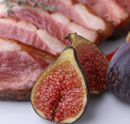 Duck Breast Fillet With Figs: wines to drink with it