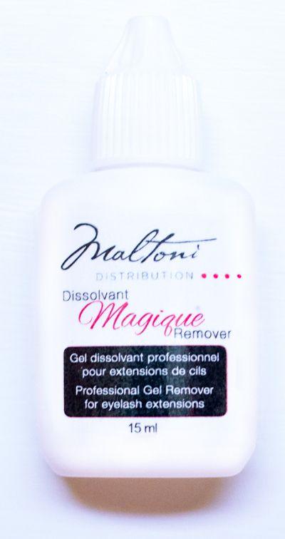Magic Remover / Dissolvant Magique $15.95 www.maltonidistribution.com/#eyelashes #eye #lashes #makeup #maltoni #maltoniproduct #maltonidistribution