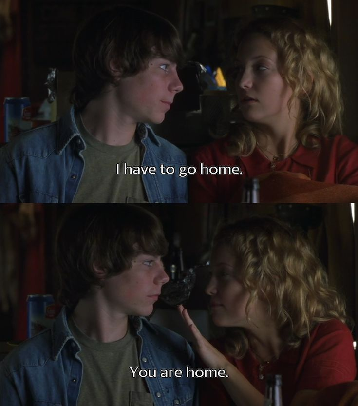Patrick Fugit and Kate Hudson, Almost Famous ... My favorite moment.