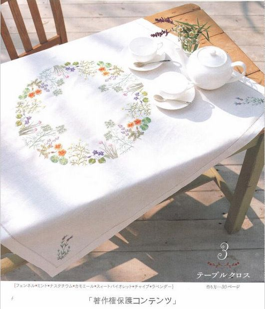 "Лаконичная вышивка: Книга ""Herb Embroidery on Linen"""