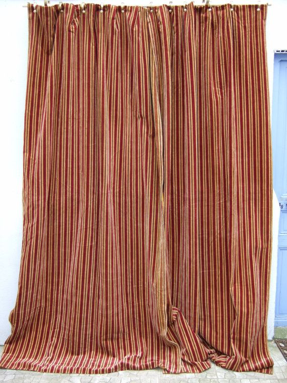 17 Best images about French Vintage Curtains on Pinterest ...