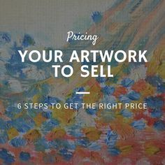 170 best pricing your crafts to sell images on pinterest for Best way to sell paintings
