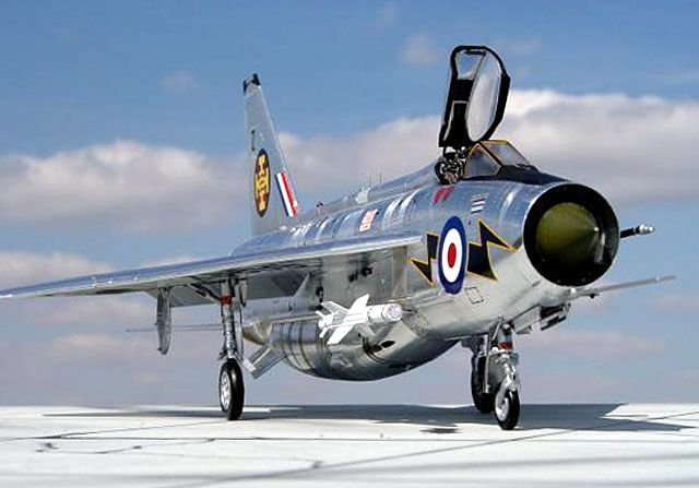The legendary English Electric Lightning - One of my favourite Cold War era jets. It's astonishing ROC and exceptional performance marked it out as ahead of it's time and a pilot's favourite.