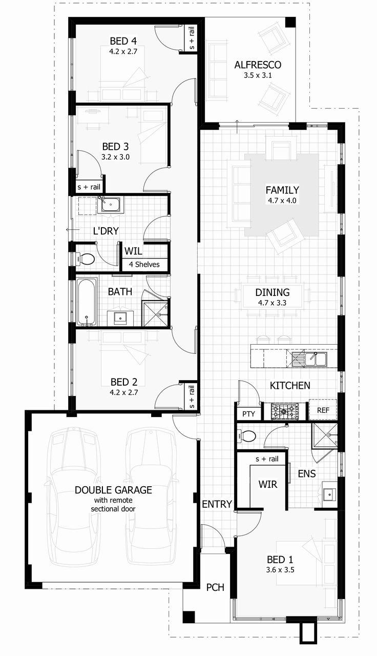 2 Story House Plans Narrow Block Awesome Amusing Narrow