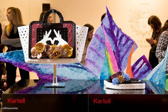 Kartell ale móde s Paulou Cademartori vytvořili hravou kolekce kabelek a bot :-)