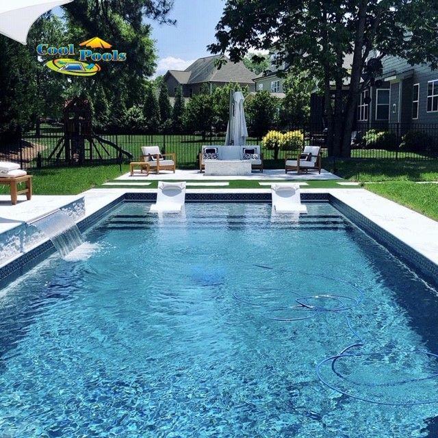 Leisure Pools Pinnacle 40 Leisure Pools Swimming Pool Installation Fiberglass Swimming Pools