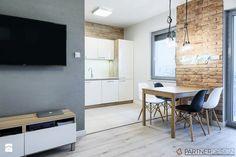 KAWALERKA - Mała otwarta jadalnia w kuchni, styl skandynawski - zdjęcie od Partner Design