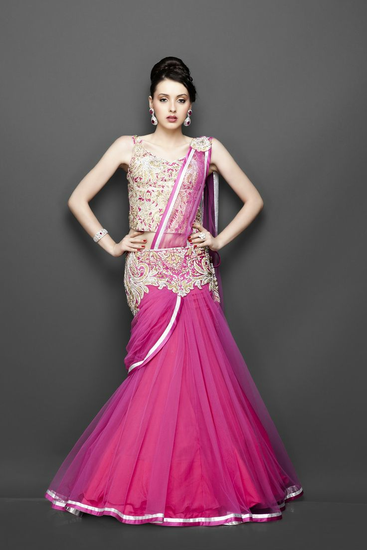 Featuring this Pink Lehenga in our wide range of Lehengas. Grab yourself one. Now!