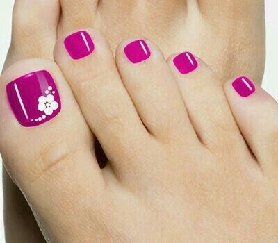The 25+ best Easy toenail designs ideas on Pinterest