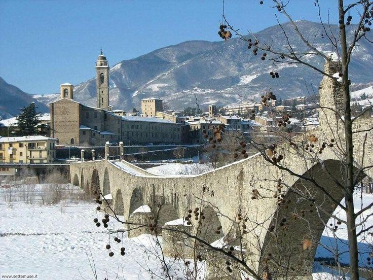 Hunchback Bridge Bobbio Emilia-Romagna Italy Stock Photo, Picture ...