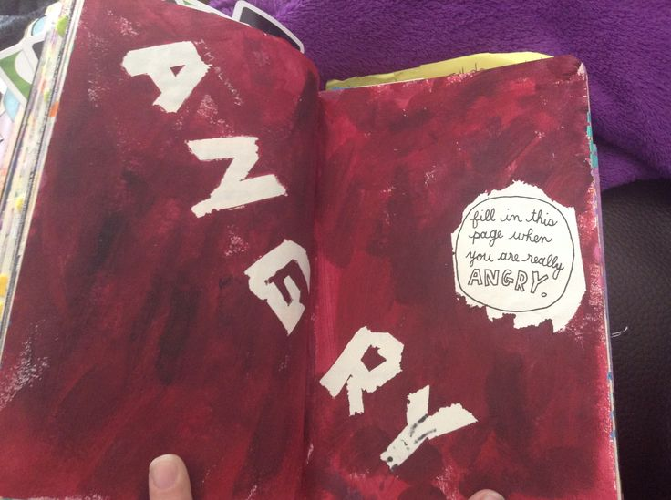 Wreck this Journal  Fill in this page when you are really angry That's my secret, I'm allway angry! Hulk