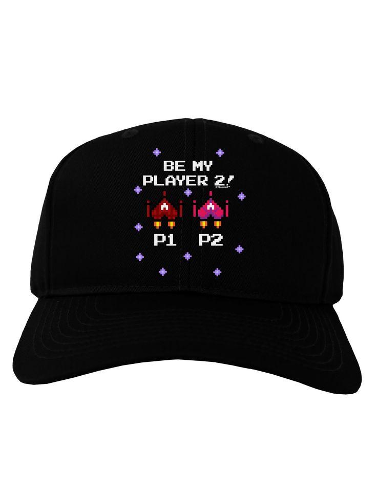 Be My Player 2 Adult Dark Baseball Cap Hat