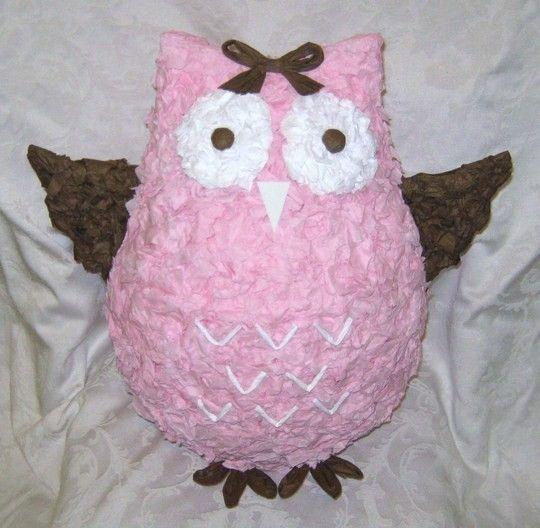 Piñata~ Pink Owl/Buho