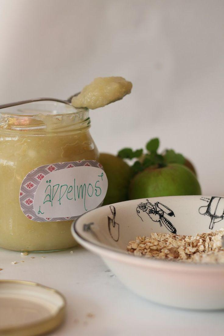 Hemgjort Äppelmos- Såhär enkelt gör du det — HomemadeFika