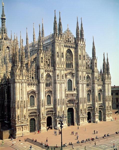 Milan Cathedral, Milan, Italy - 14th c.