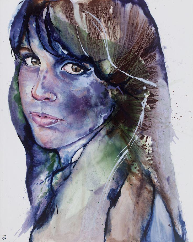 'Lucinda' by Johanna Wilbraham. Oil on canvas, 120 x 150 cm
