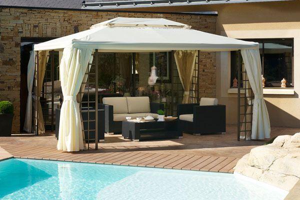 Online sale Moderne Tuin / 22522 / Tuinpaviljoens & Parasols / Partytent - Ecru - €685