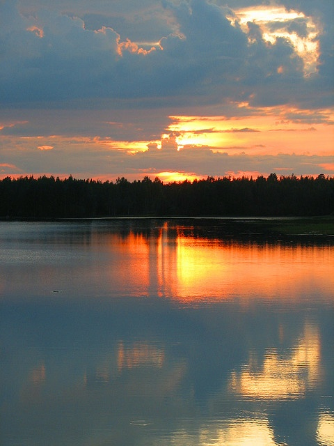 summer night in Finland