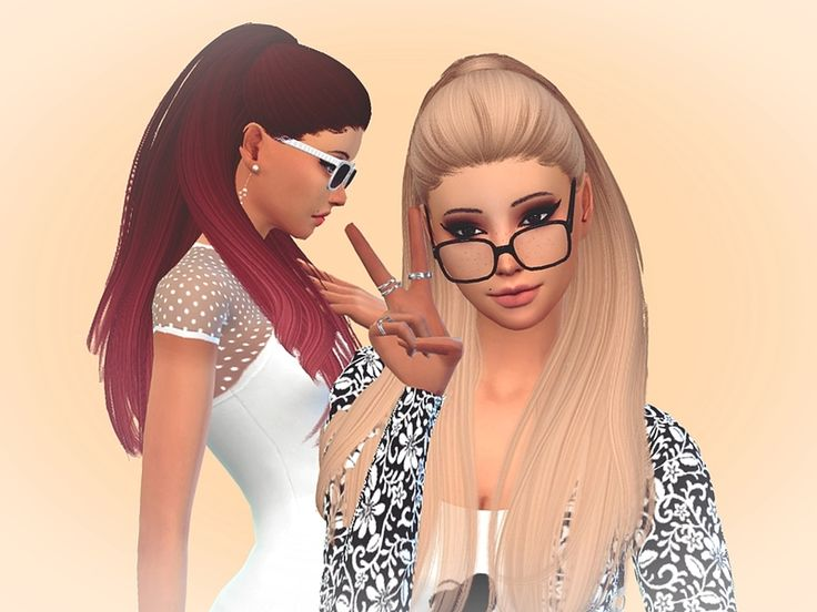 -47 Colors THIS IS FULL VERSION OF MY RETEXTURE NORMAL COLORS + OMBRE !!!  Found in TSR Category 'Sims 4 Female Hairstyles'