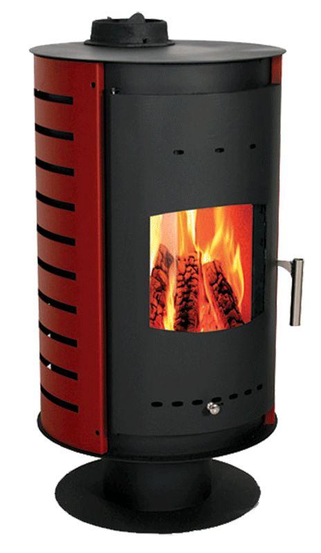 Estufa de leña, de 12kw capaz de calentar 342m3 de estancia. No incorpora ventilador forzado, por lo que tiene un coste muy ajustado. Entra y descubrela en www.nuevasenergias.eu o en www.nuevasenergias-shop.es