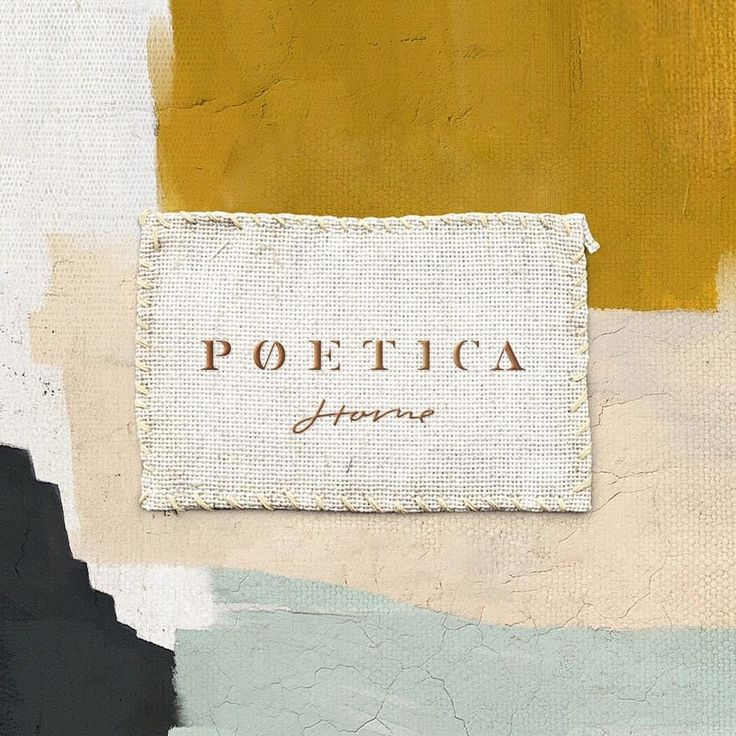 Love the colours, textures and typography in this branding for Poetica Home.  #designinspiration #logo #logodesign #brandidentity #graphicdesign #art #graphicdesigner #creative #branding #design #brand #illustrator #lettering #texture #colourinspiration design by @nonamebranding.nyc
