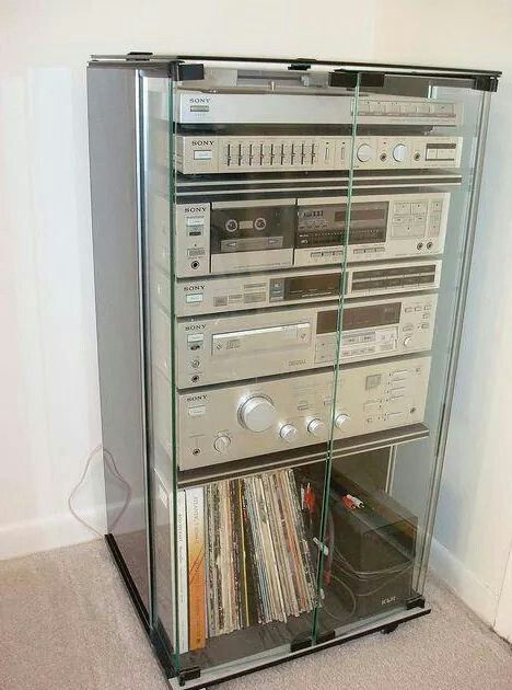 Had to have a stereo system stack like this back in the day.