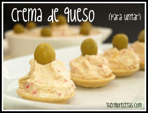 Crema de queso para untar - Recetas Thermomix