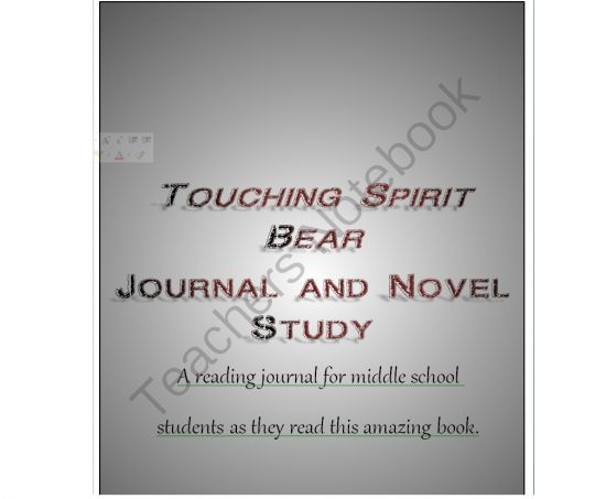 literary analysis touching spirit bear Novel study project aboriginal literature and/or aboriginal authors the main character in touching spirit bear, cole matthews, is an angry young.