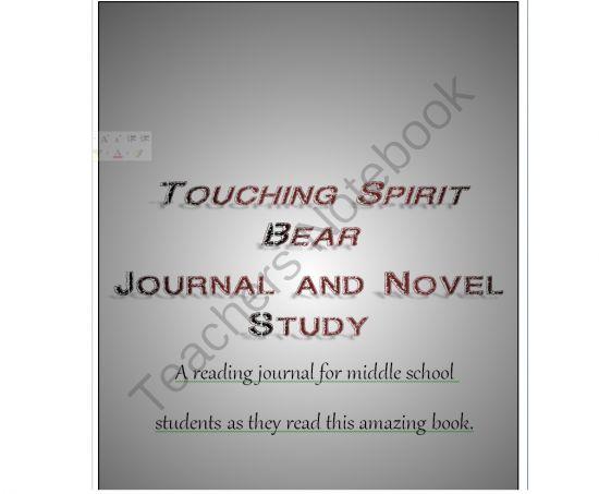 touching spirit bear book report