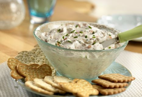 Smoked Salmon Dip.  A little vodka is what makes this creamy salmon dip especially good. It makes an elegant and easy make-ahead appetizer.