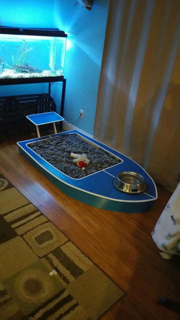 Flats boat dog bed