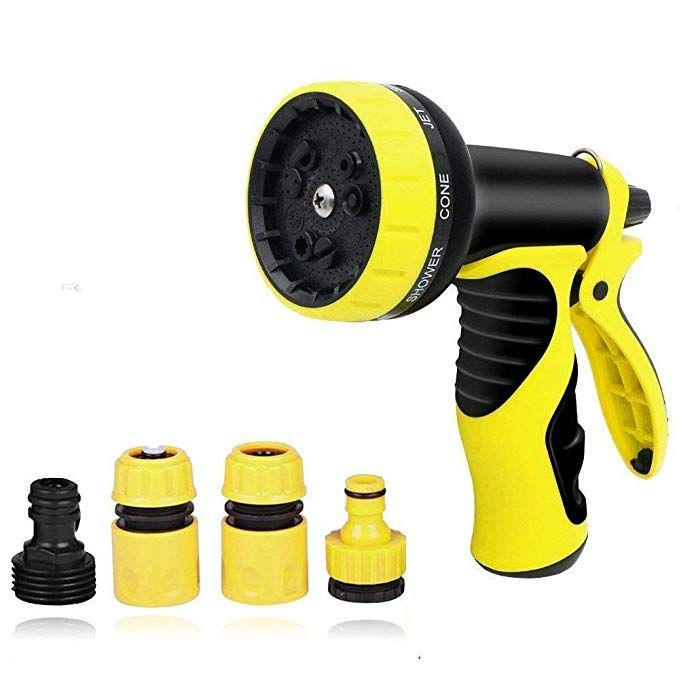 Garden Hose Nozzle Hand Sprayer Water Nozzle With Heavy Duty 8