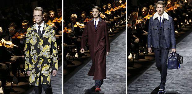 Op de mannenmodeweek van Parijs konden de modecritici de collecties van onze landgenoten best smaken.