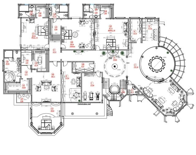 Luxury House Plan Tanzania Luxury House Plans House Plans Family House Plans