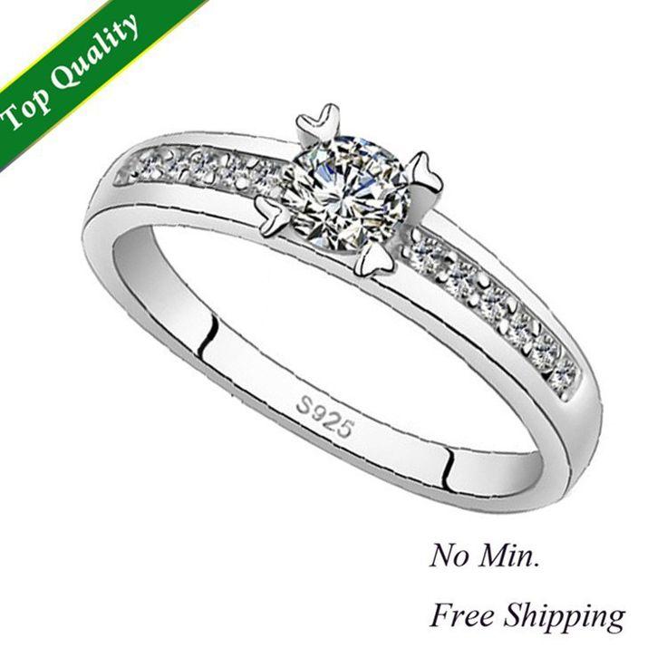 Engagement Wedding Band Brand Nail Finger Ring Set for Women on Sale,Aneis de Diamante,Motociclista Anel de Prata Feminino J411 $5.13