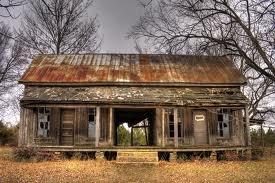 Dog trot house.