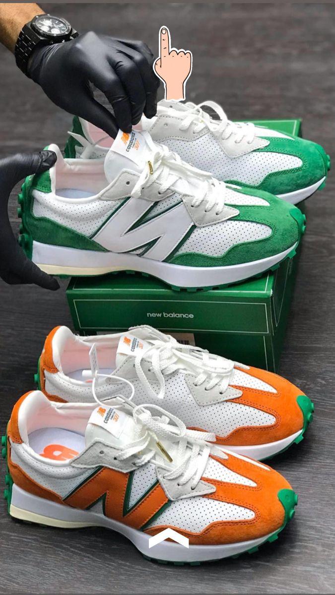 CASABLANCA X NEW BALANCE 327 | Chaussures de sport mode, Chaussure ...